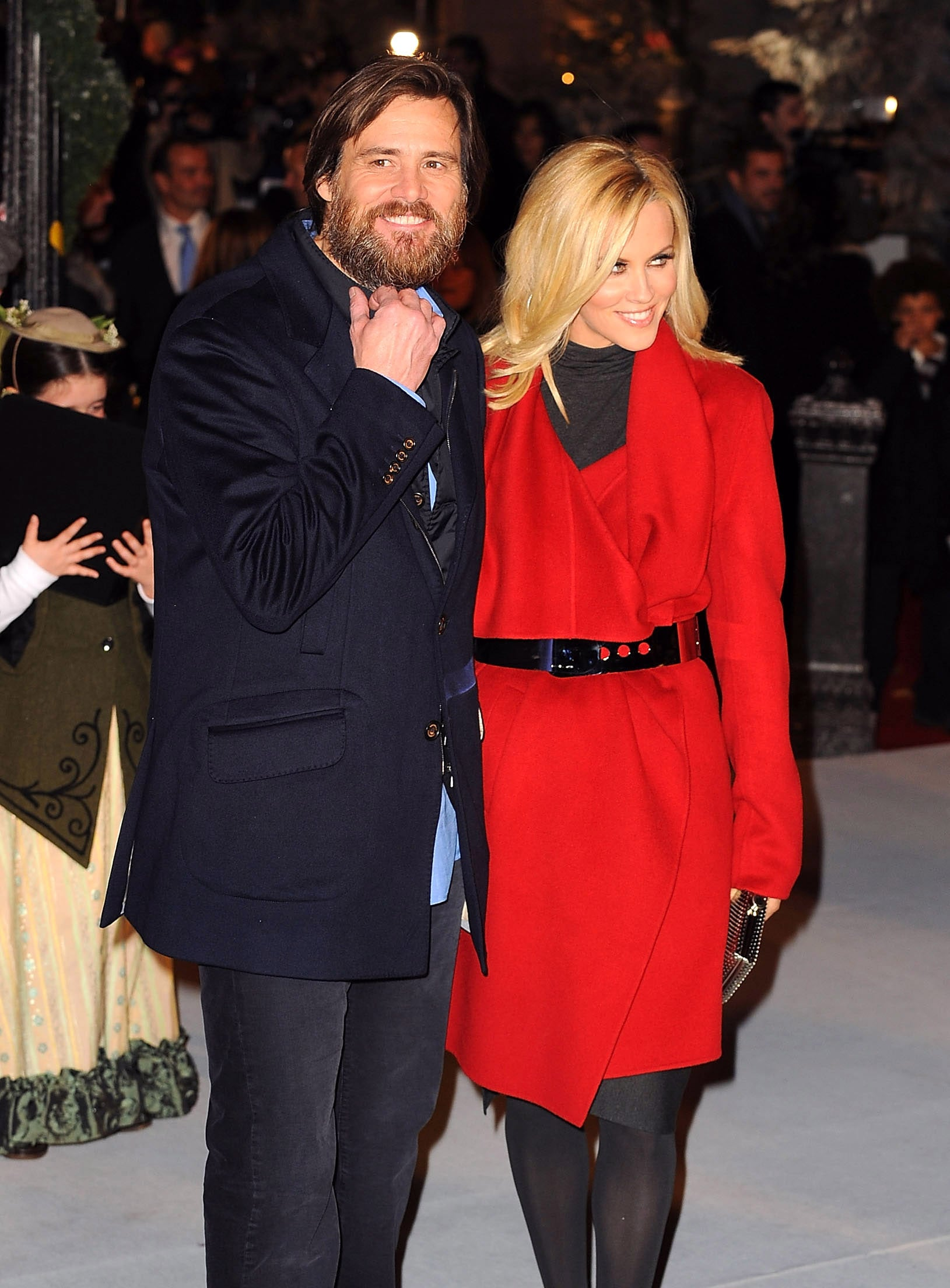 Photos Of Jim Carrey And Jenny Mccarthy At The Uk Premiere