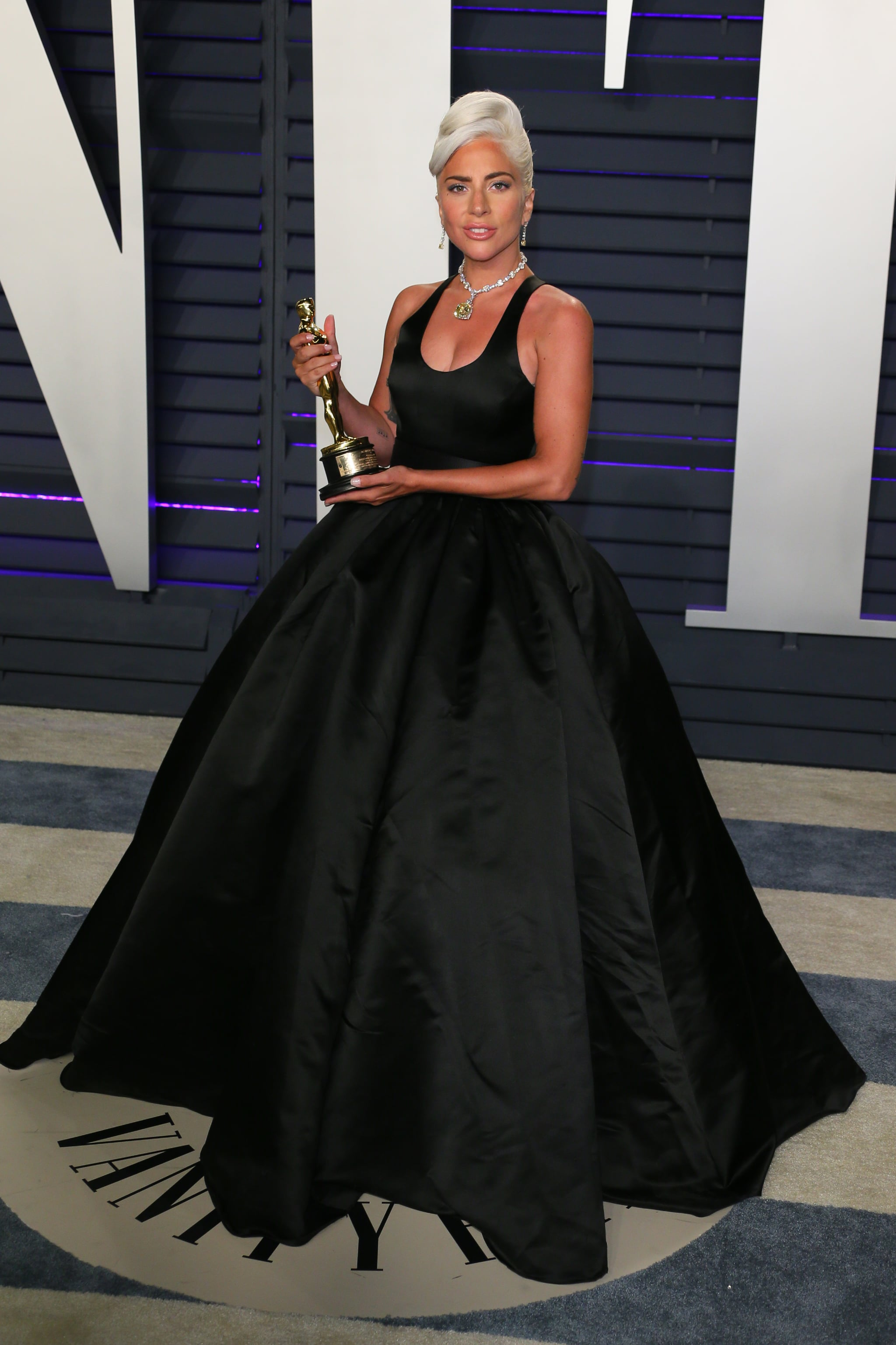 Lady Gaga At The 2019 Vanity Fair Oscar Party The Party Doesn T Start Until You Ve Seen These Oscars Afterparty Dresses Popsugar Fashion Photo 14