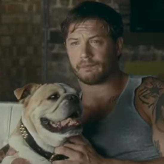 Tom Hardy Cries and Cuddles a Dog in an Old Kleenex Advert