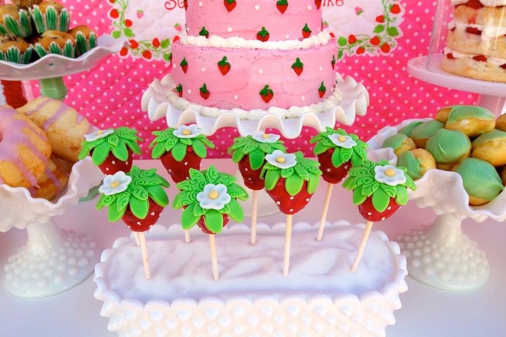 Vintage Strawberry Shortcake Birthday Party Popsugar Moms