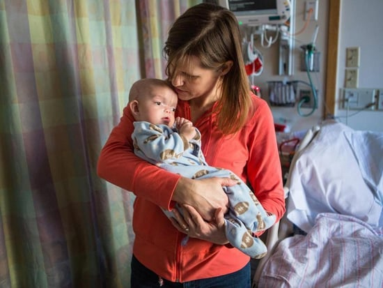Baby Back on Track After Surgery to Correct Severe Birth Defect
