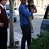 Jessica Alba and Family in Beverly Hills Pictures