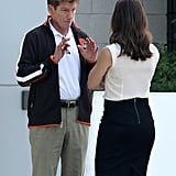 Denis Leary and Jennifer Garner shot scenes for Draft Day.