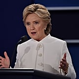 Why Is Hillary Clinton Wearing a White Suit to the Debate?