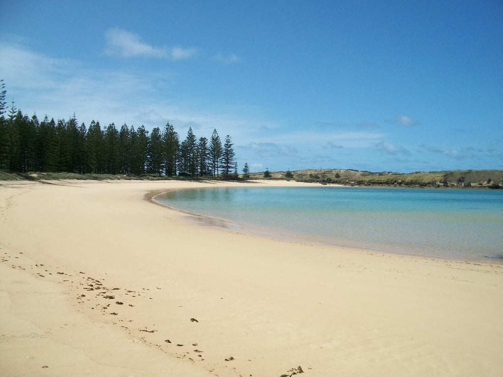 Emily Bay, Norfolk Island