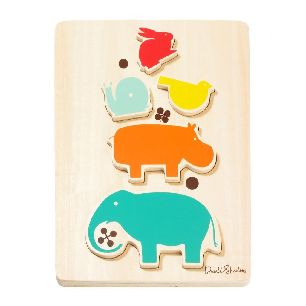 DwellStudio Wooden Puzzle ($14)