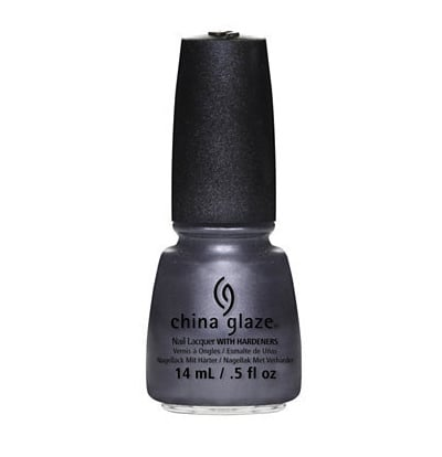 China Glaze offers up a chic way to try the trend with its Autumn polish Public Relations (£12) a shimmering pewter-purple shade.