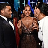 Pictured: Anthony Anderson, Halle Berry, and Tracee Ellis Ross