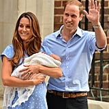 The Family Moment: Prince George