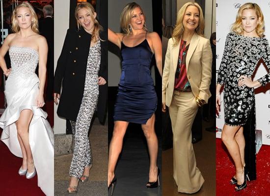 Photos of Kate Hudson Promoting Nine