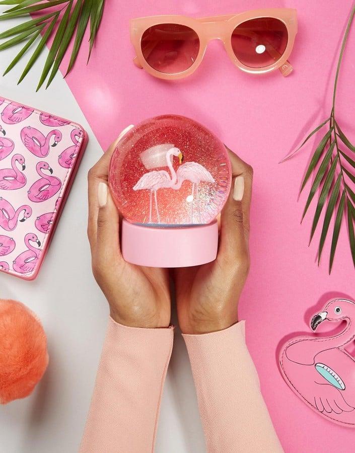 2138c132f2bc0 Snow Globe | Flamingo Desk Accessories | POPSUGAR Smart Living Photo 13