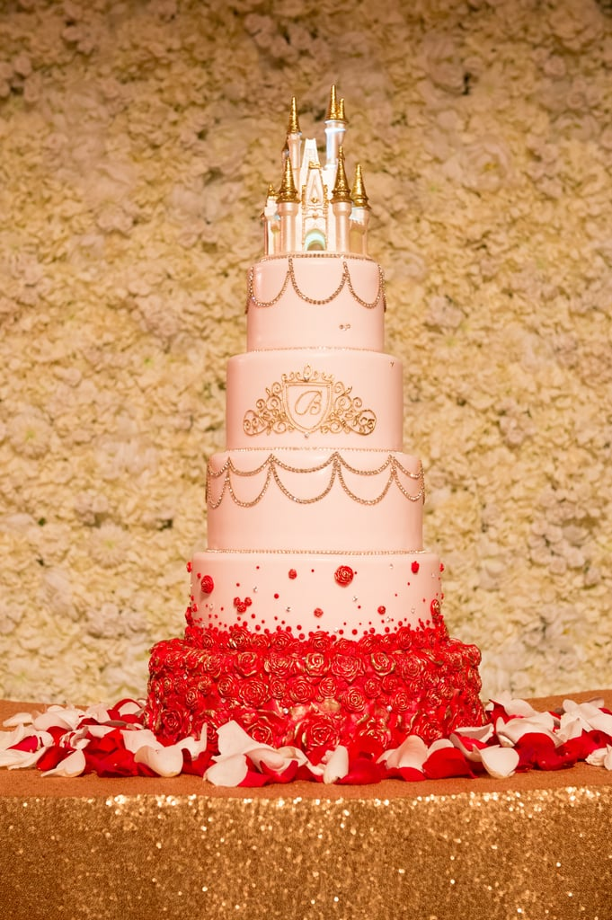 Beauty and the Beast Wedding Cakes | POPSUGAR Food Photo 5