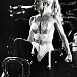 The bustier.