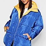 Boohoo Funnel Neck Multiway Reversible Jacket