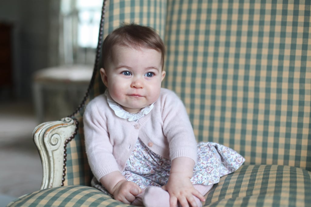 Could Princess Charlotte look any more adorable?!