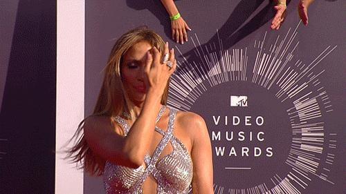 Jennifer Lopez Gave a Sizzling Hair Flip