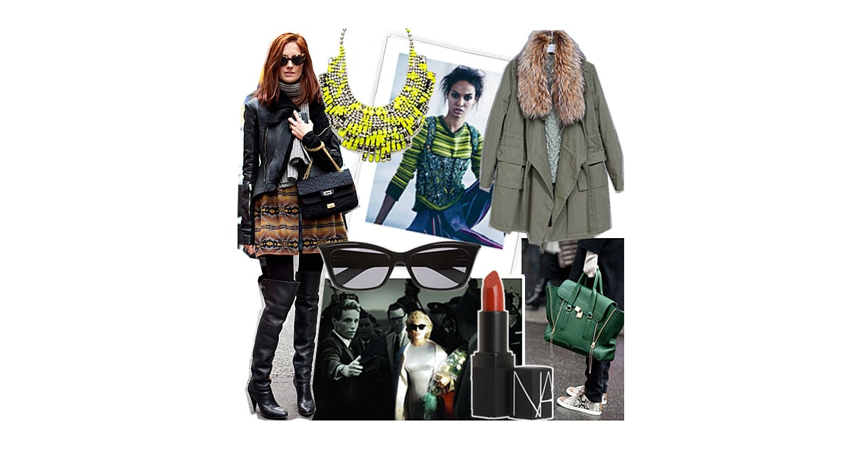 Fashion Week Mood Board Popsugar Fashion