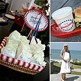 A Baseball-Themed Baby Shower For a Lil Slugger-to-Be