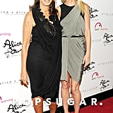 Gwyneth  posed with designer Donna Karan at a charity event in NYC in June 2011.