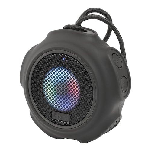 iHome Portable Waterproof Color-Changing Bluetooth Speaker