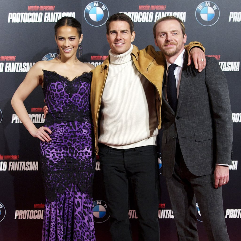 Tom Cruise Hosts Spanish Royals at Ghost Protocol Premiere