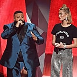 Hailey Baldwin Stoneman Douglas T-Shirt iHeartRadio Awards