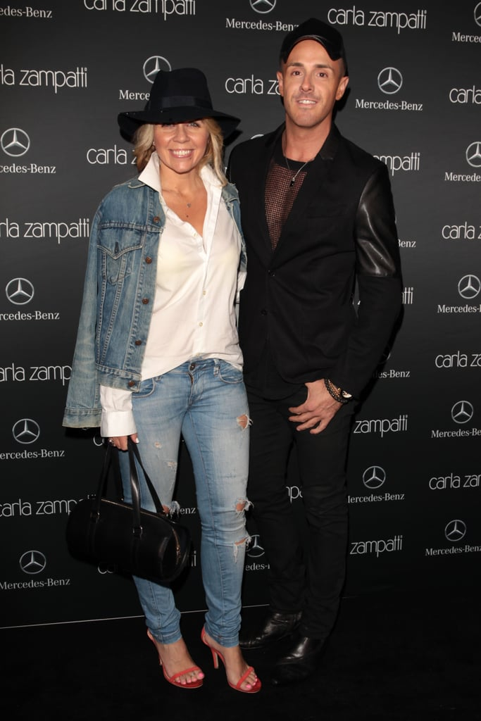 Faye de Lanty and Donny Galella at MBFWA Day One