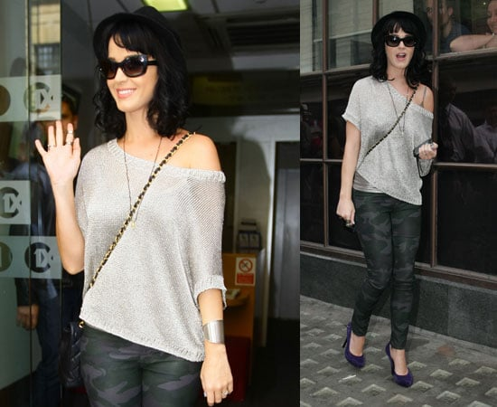 Pictures of Katy Perry in London