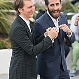 Paul Dano and Jake Gyllenhaal poked fun at each other at the Okja photo call in 2017.