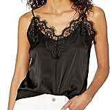 The Drop Natalie V-Neck Lace-Trimmed Camisole Tank Top
