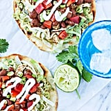 Chicken and Bean Tostadas