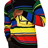 Topman Rainbow Stripe Classic Fit Sweater