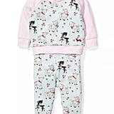 Peter Alexander Baby Girls Lamb Knit PJ Set ($30) (Sizes 0-3M, 3-6M, 6-9M, 9-12M, 12-18M, 18-24M)