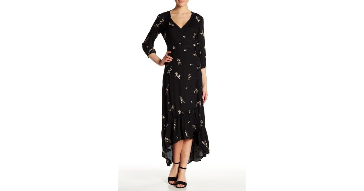 8261164372ef Love Stitch Floral Print Wrap Maxi Dress   Selena Gomez Ganni Floral Wrap  Dress 2018   POPSUGAR Fashion Photo 15