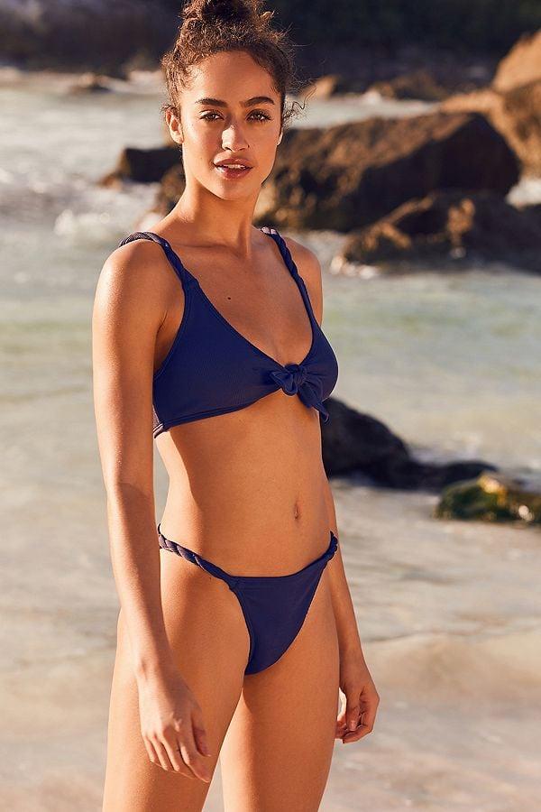 6c07407481594 Out From Under Wynona Ribbed Twist Bikini Bottom