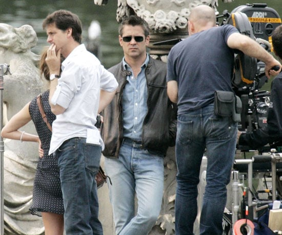 Slide Photo of Colin Farrell Filming London Boulevard