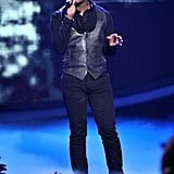 Joshua Ledet closed the show with a powerful performance.