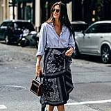 Autumn 2019 Fashion Trend: Silk Scarf and Bandana Prints