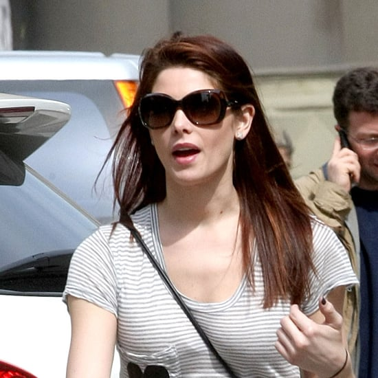 Pictures of Ashley Greene Out With Her Dad Joe Greene in NYC