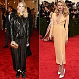 Dree Hemingway at the 2013 and 2014 Met Galas