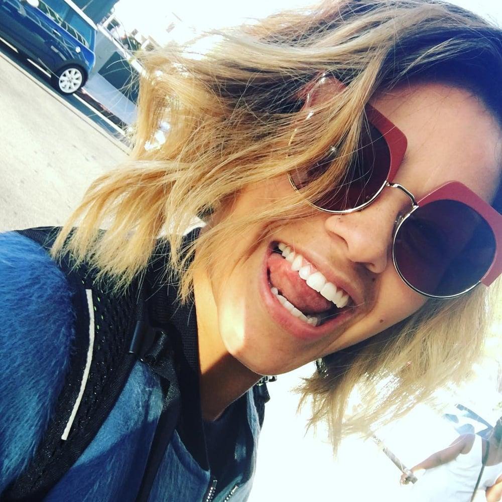 Porn Star Gina Rodriguez Good gina rodriguez's blond hair july 2016   popsugar latina