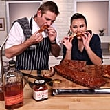 Roast Sticky, Saucy Ribs at Home, Courtesy of Curtis Stone