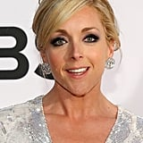 Jane Krakowski opted for a smoky eye and a glamorous updo for the evening.