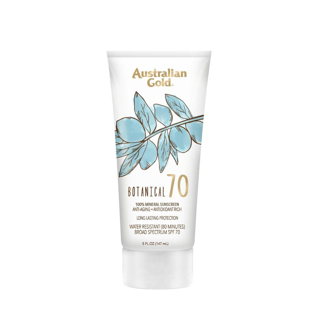 Australian Gold Botanical SPF 70 Mineral Sunscreen Lotion