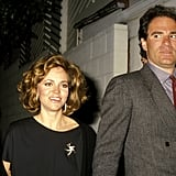 Sally Field and husband at the time Alan Greisman attend a 1985 New Year's Eve party at Spago's in West Hollywood.