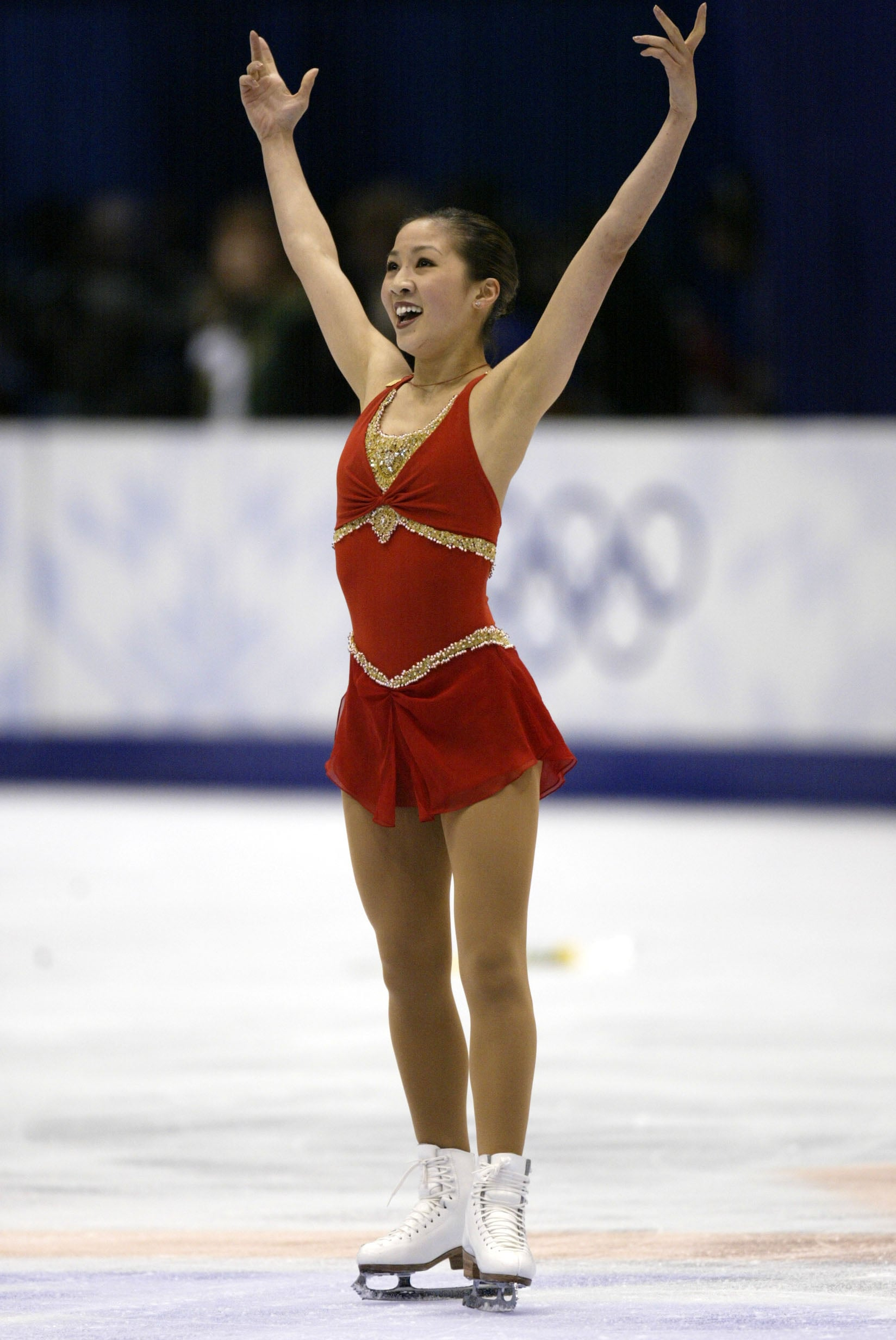 Michelle Kwan Ice Skating