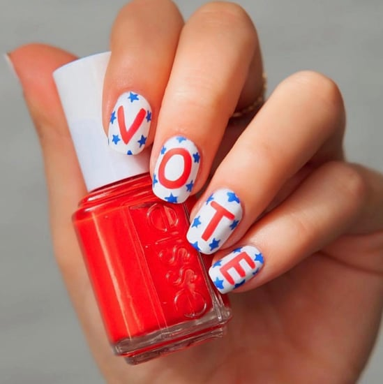 "The Coolest ""Vote"" Themed Nail Art to Hit Instagram"