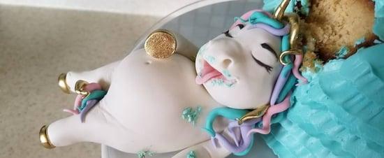 Fat Unicorn Cakes