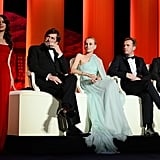 Jurors Diane Kruger, Nanni Moretti, Ewan McGregor, and Jean Paul Gaultier along with Bérénice Bejo attended the opening ceremony of the 65th annual Cannes Film Festival.