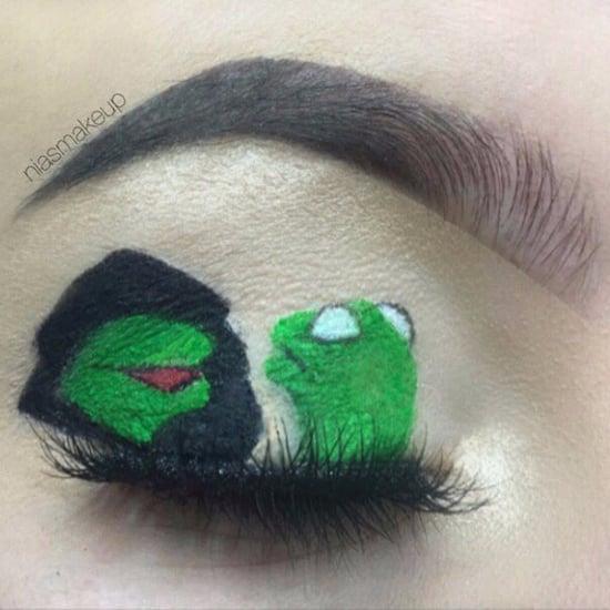 Eye Makeup Inspired by Memes